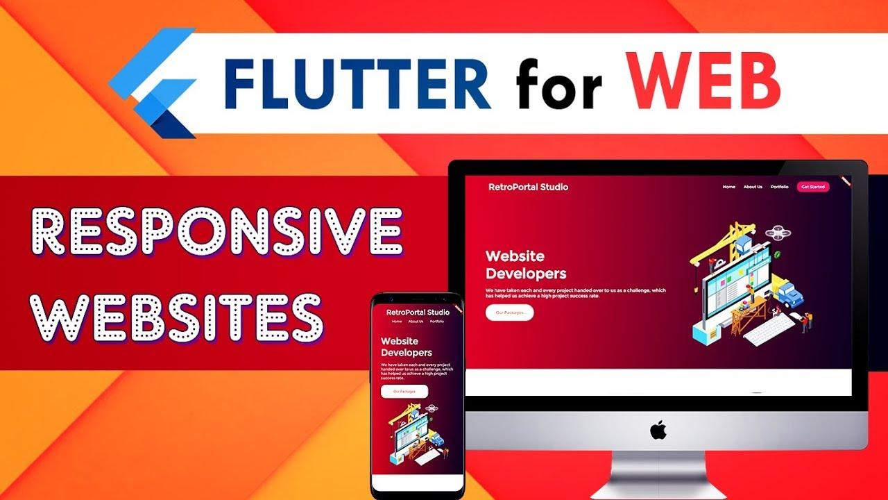 Flutter Web – Building a Responsive Website in Flutter | Flutter Tutorial