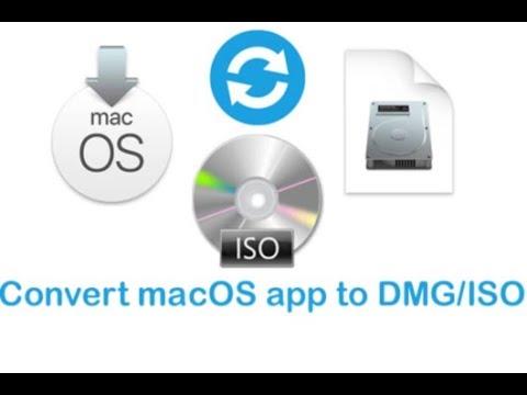 Convert macOS .app to .dmg or .iso bootable installer