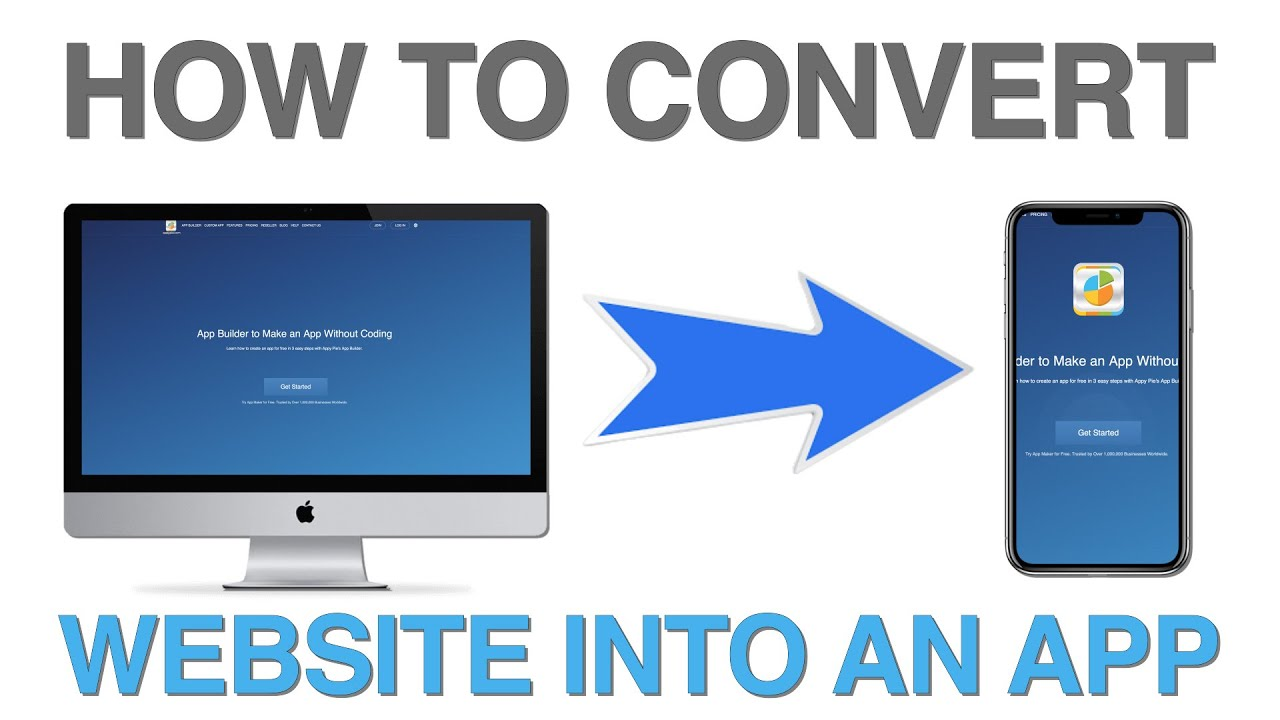 How to convert your website into an app? – Lesson 08