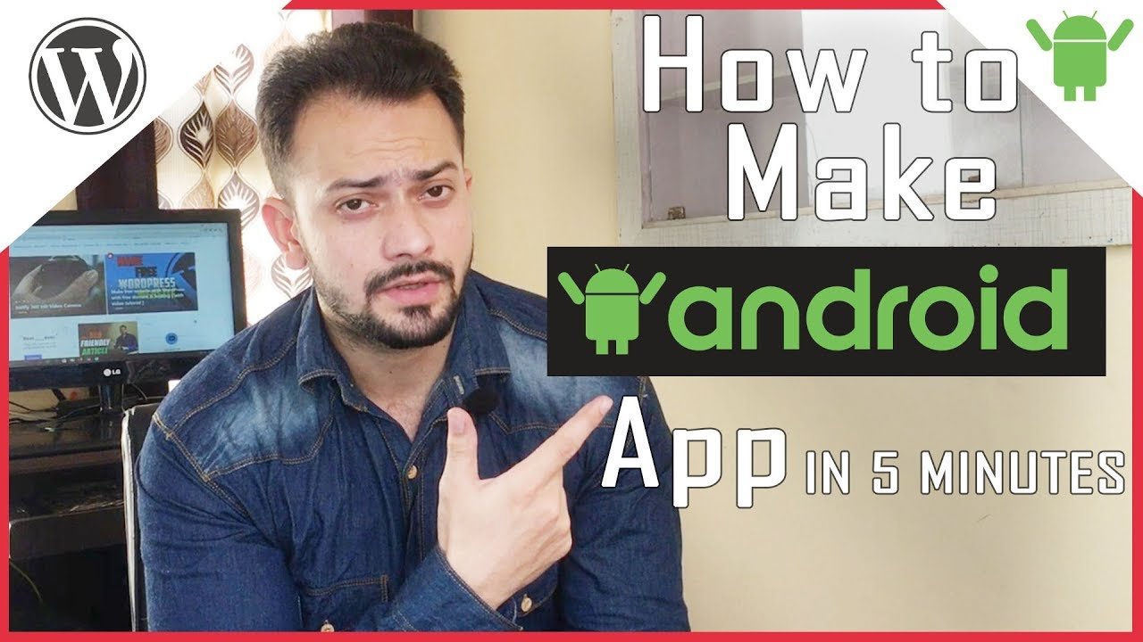 How to Convert WordPress website to a android app in 5 Minutes