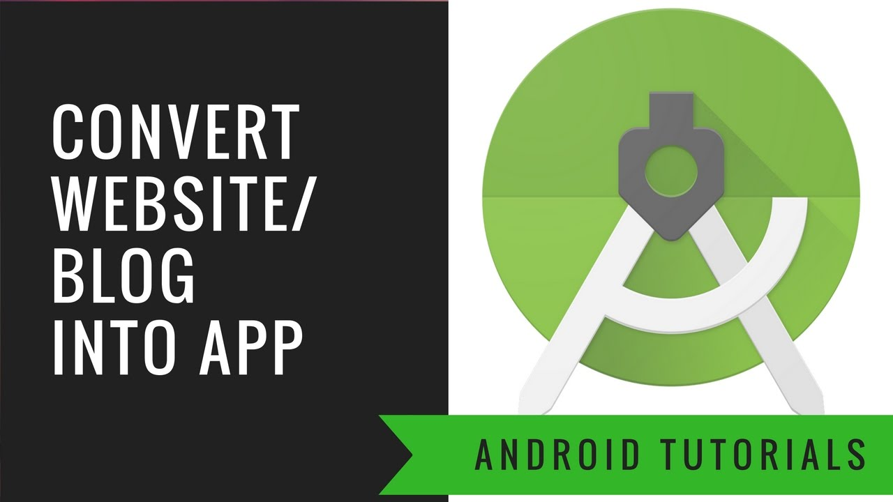 How to Convert a Website/Blog into Android Application using Android Studio With Material UI – Easy