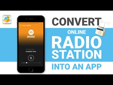 How to convert your online radio station into an app? – Lesson 29