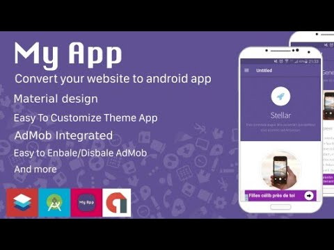 Free Website To App Converter Source Code | Free Android Studio Project / Source Code