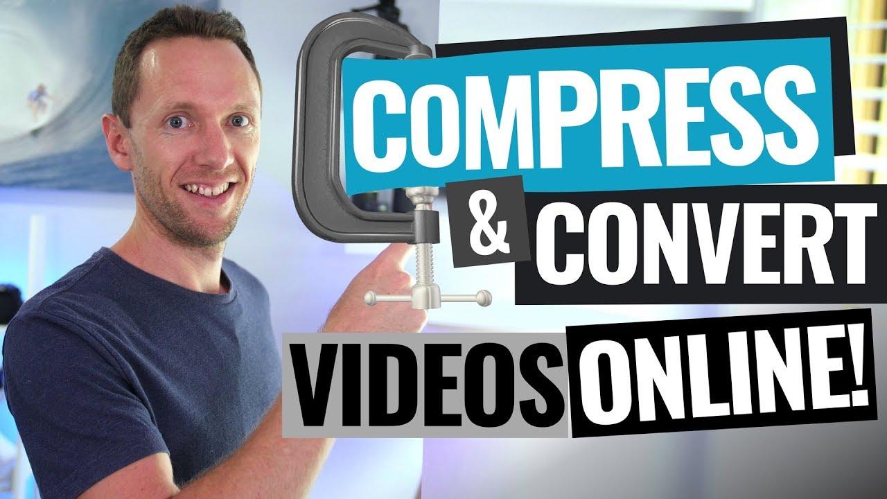 Compress & Convert Videos Online (Easy Online Video Converter!)