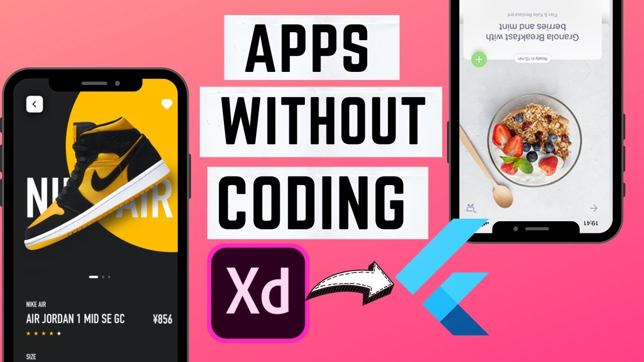 Adobe XD to Flutter plugin – Flutter Apps without coding ! Fully Explained