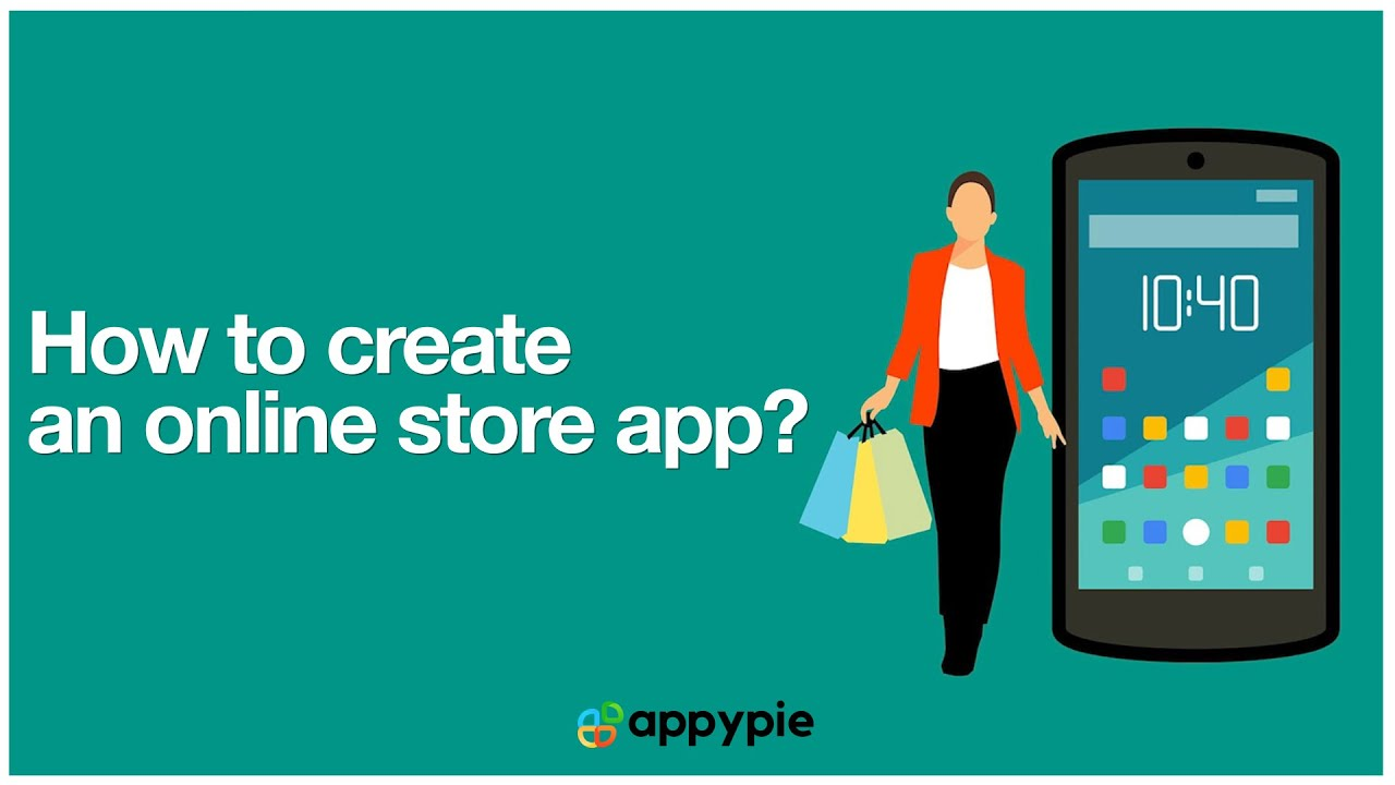 How to create an online store app using Appy Pie AppMakr?