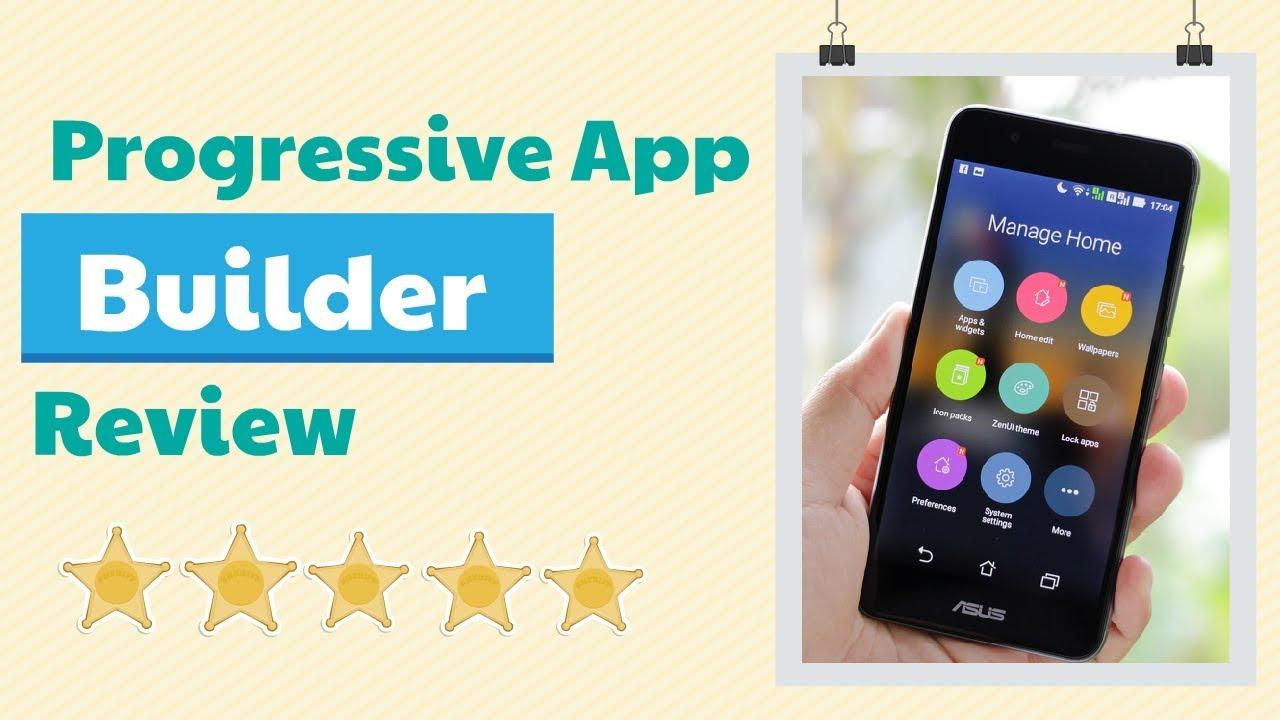 Website to Mobile App Converter -Progressive Apps Builder Review