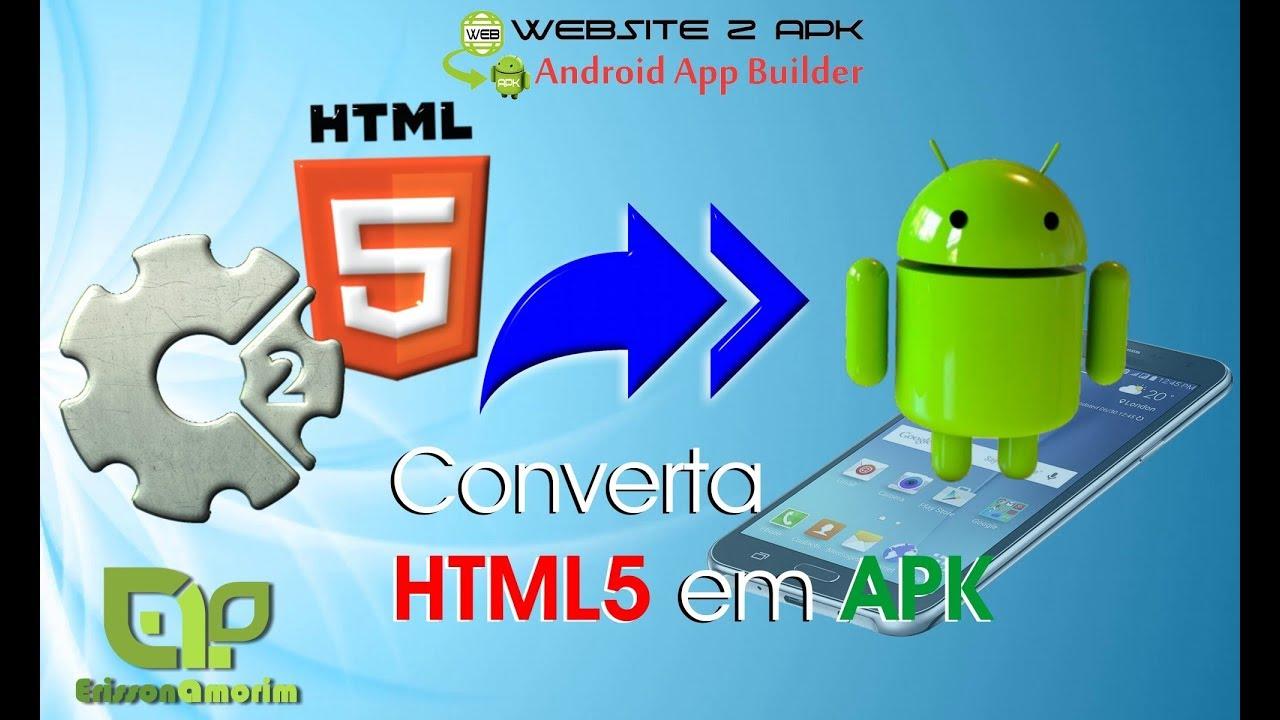 Construct 2 – Exportar APK com Website 2 APK.