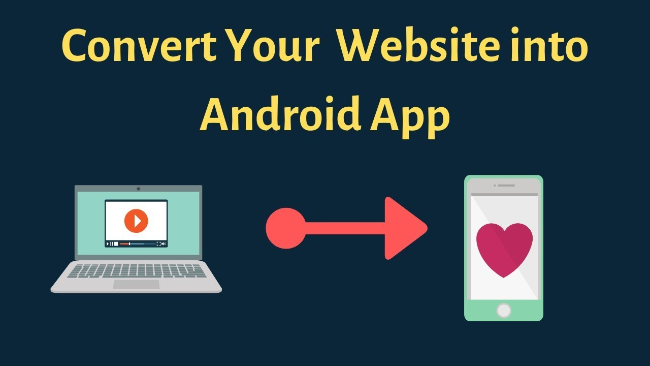 How to convert website into android app free
