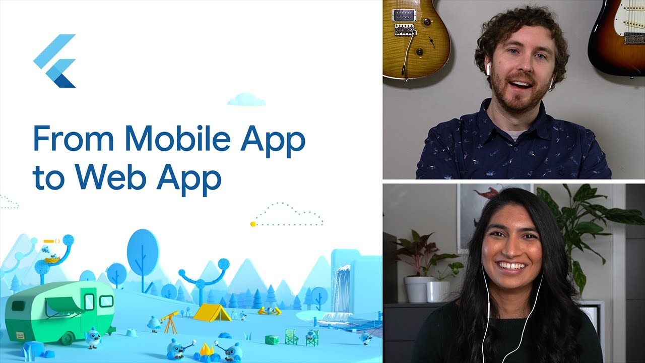 From mobile app to web app
