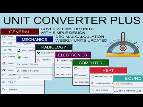 Free Android App, Unit Converter App for Student, Engineer and Programmer