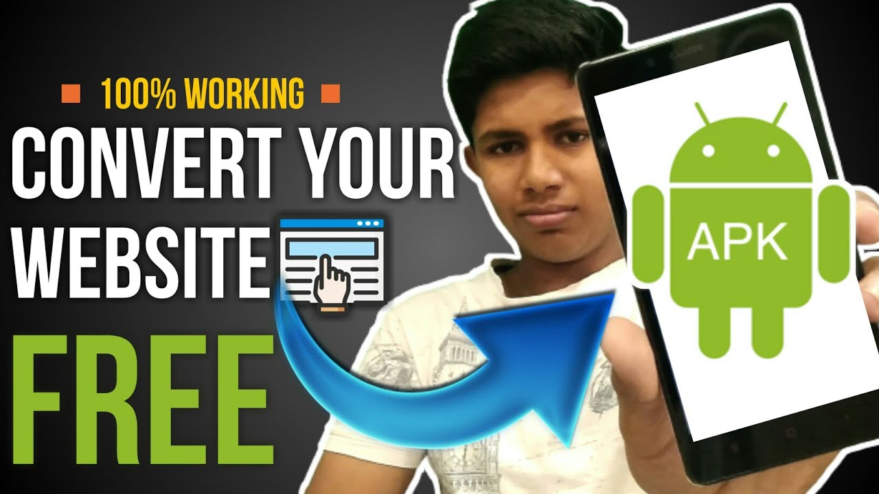 How to convert website to app free | How to convert website to android app  without coding