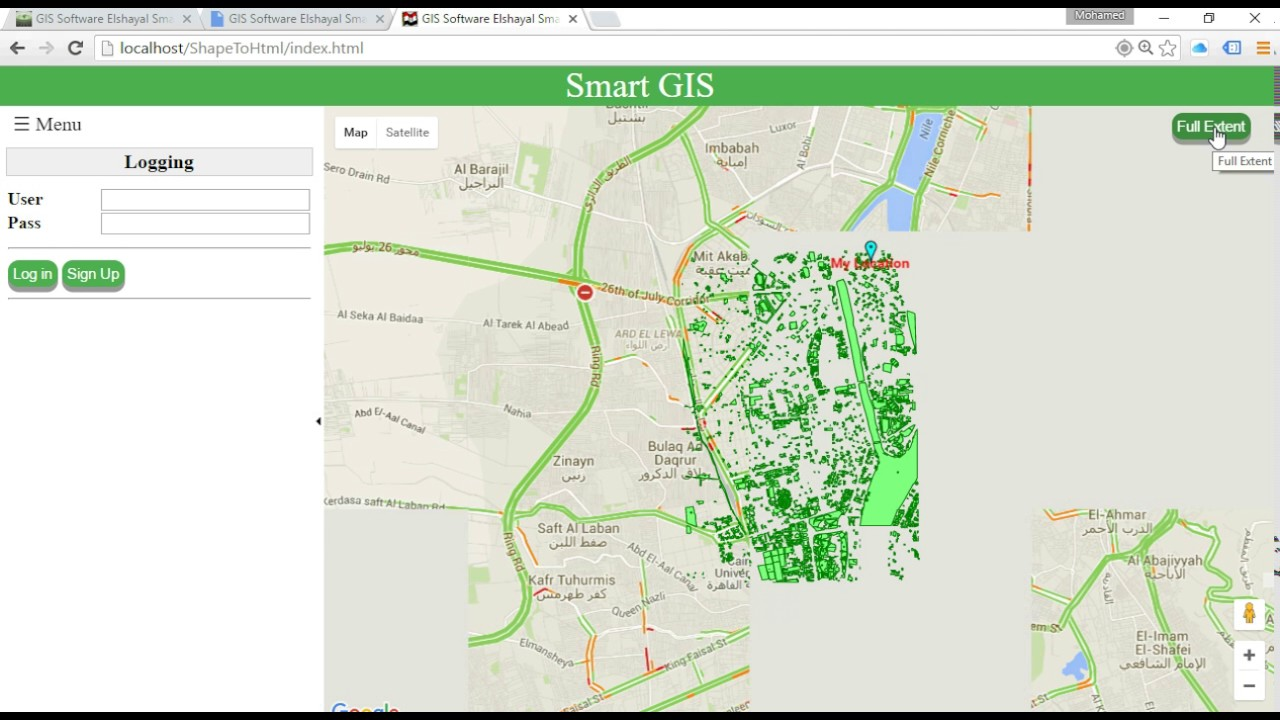 Convert Shape files to HTML GIS Web and Mobile Application