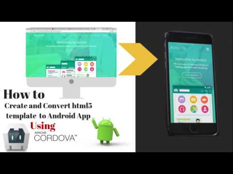 How to create and convert html website into android app in 4 minutes using adobe phonegap (cordova).