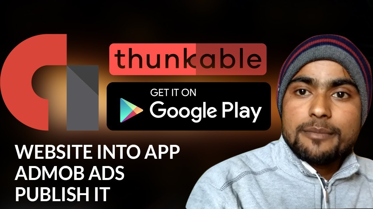 How to Convert Website into Android App – Admob – Publish it on PlayStore
