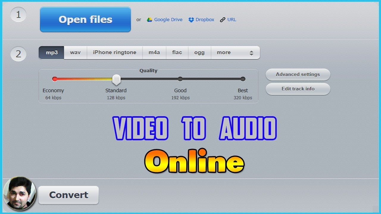 Video to Audio Online Converter | How to convert video to audio online