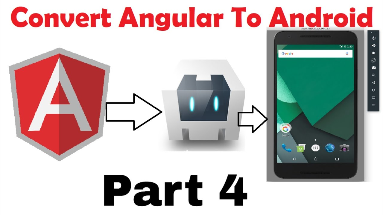 Convert Angular App to Android App Using Apache Cordova Part-4