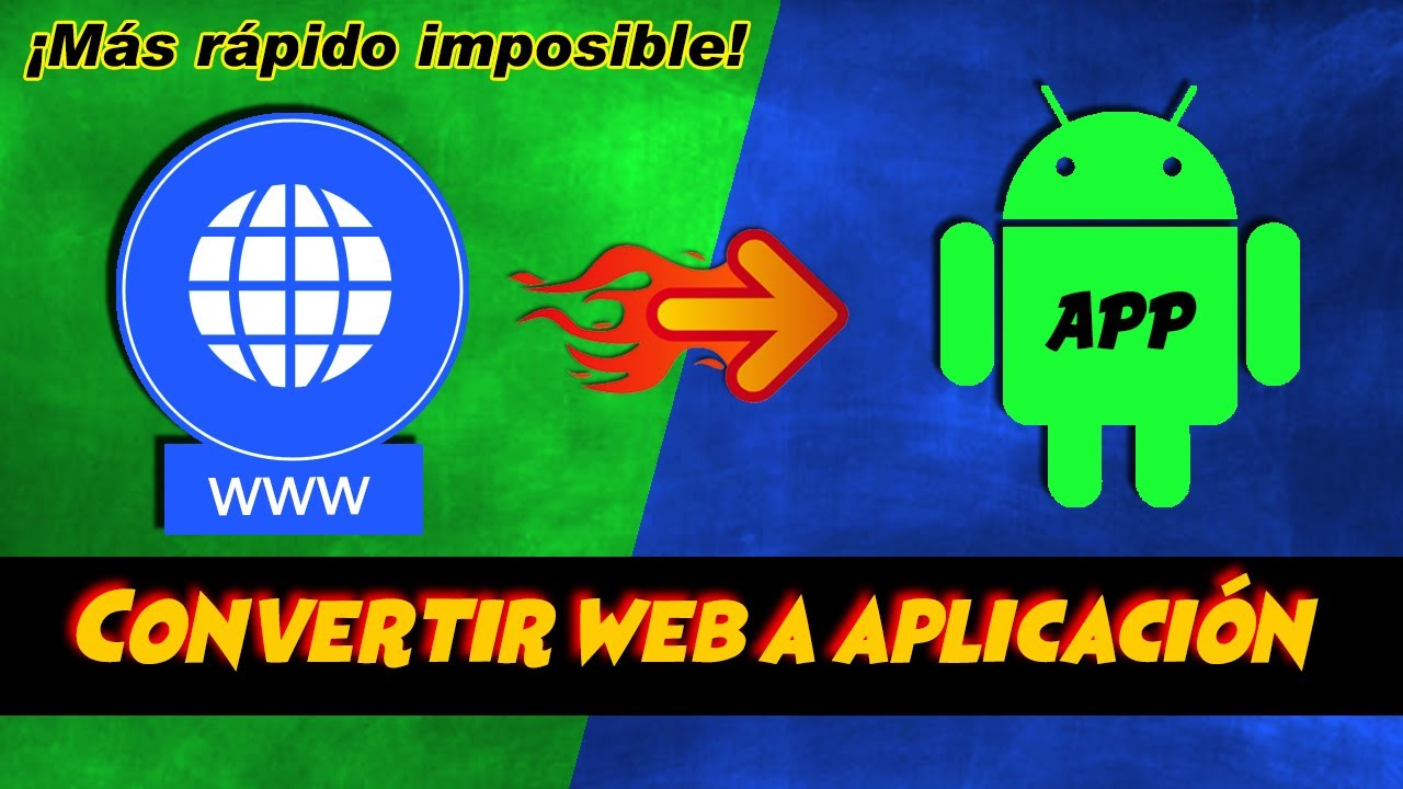 CONVERTIR Pagina WEB a APLICACION Android – APP / APK | HOW TO CONVERT WEBSITE TO APP