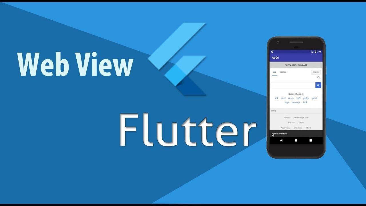 webview in flutter || Flutter: WebView || url launcher in flutter || Website to App