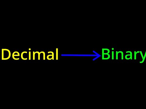 Decimal to binary converter using scratch 3.0 (Website or app, I used website)