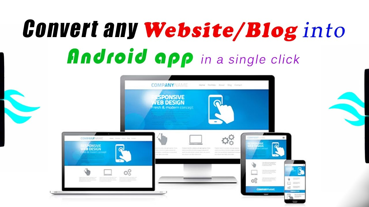 How to convert Website/ Blog into Android app easily.