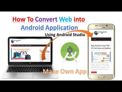 Android WebView App source code (Convert website into Android App)