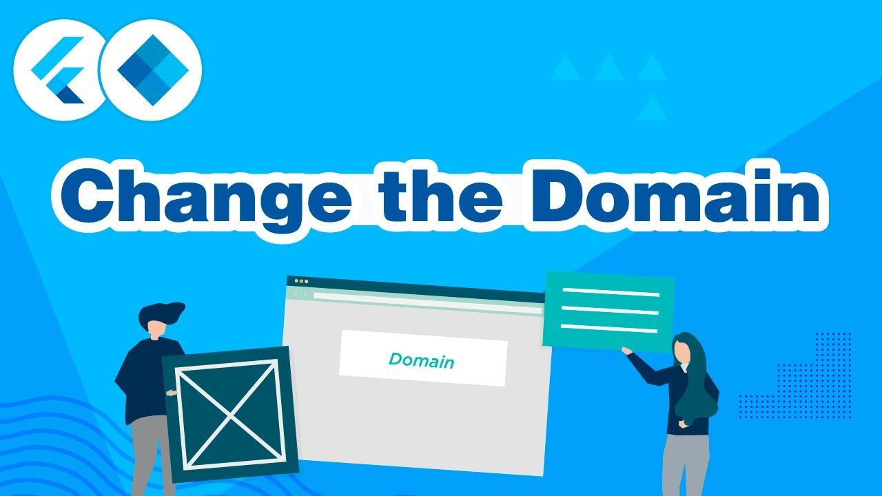 Change the Domain on FluxStore and FluxNews apps (Flutter E-Commerce App)