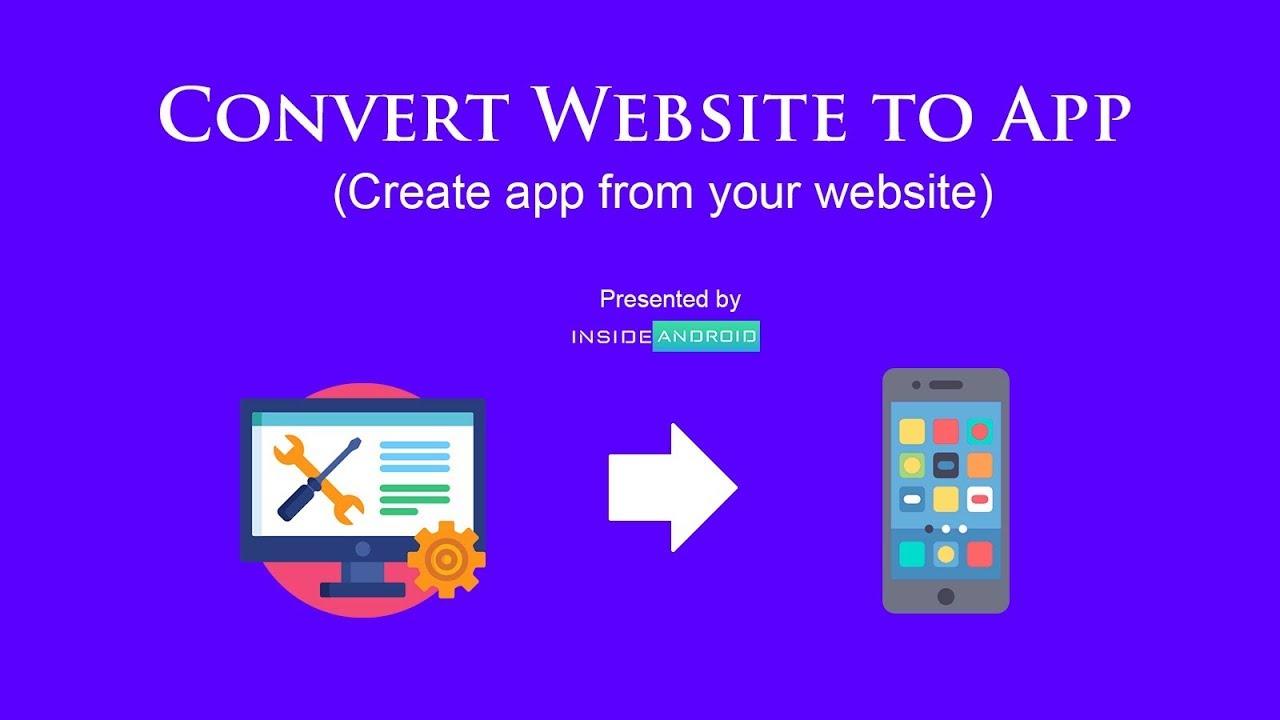 Convert Website to App   Create App of your WordPress Website