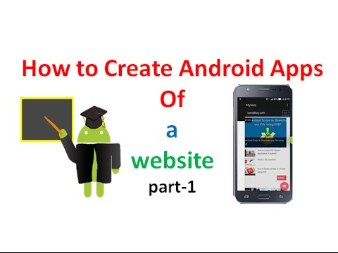 #How to Convert  any Website into Android Application in Android studio:part1 | ShoutCafe.com