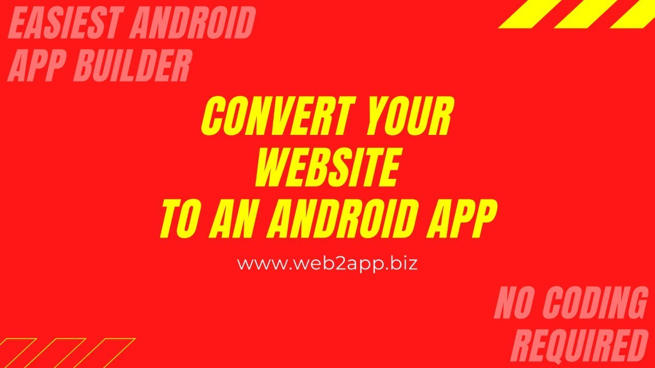 Can I Turn My Wix Website Into An App  Website To Android App Check It Out!