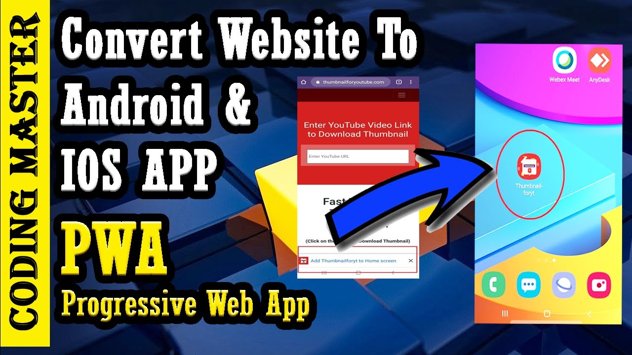 PWA – Progressive Web App | Convert Website To Android And IOS App with Source Code