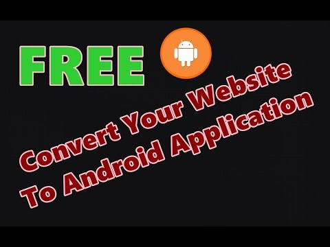 Convert Your Website Into Mobile Application FREE