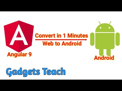 Convert Any Website into Android App (WebView)) In 1 Minutes   convert website to android app source