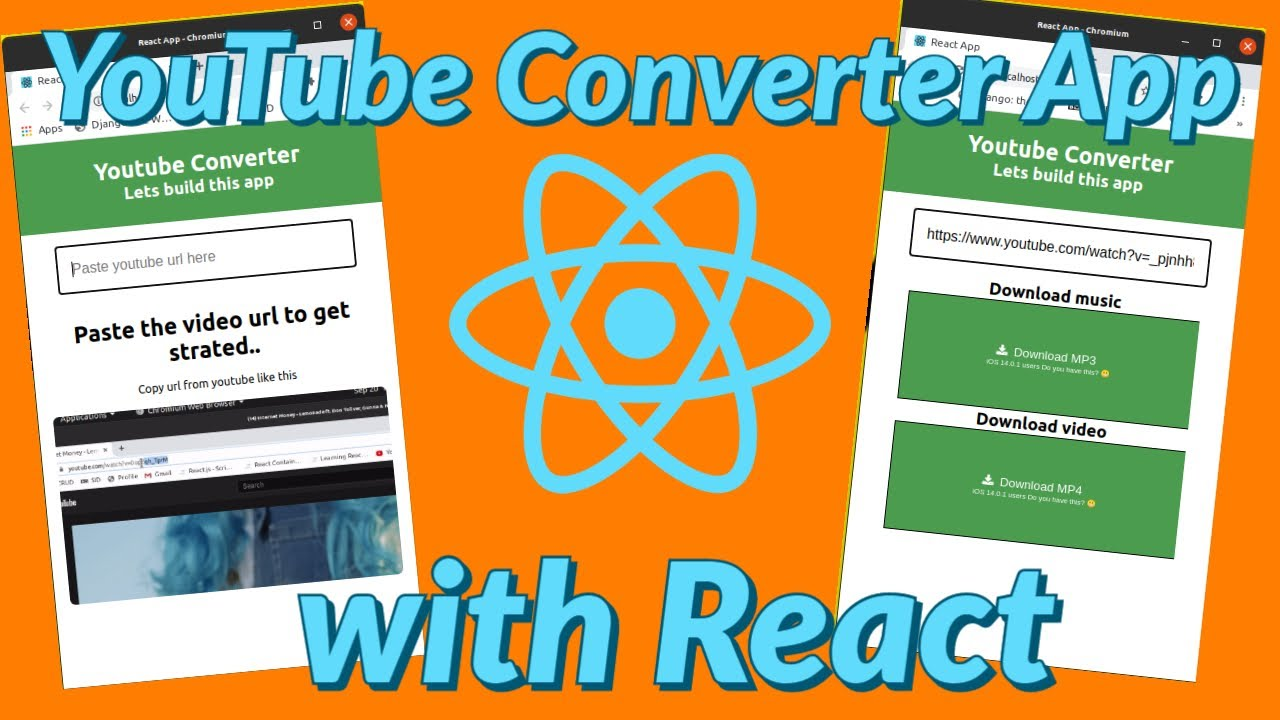 How to build a YouTube Converter App with React JS