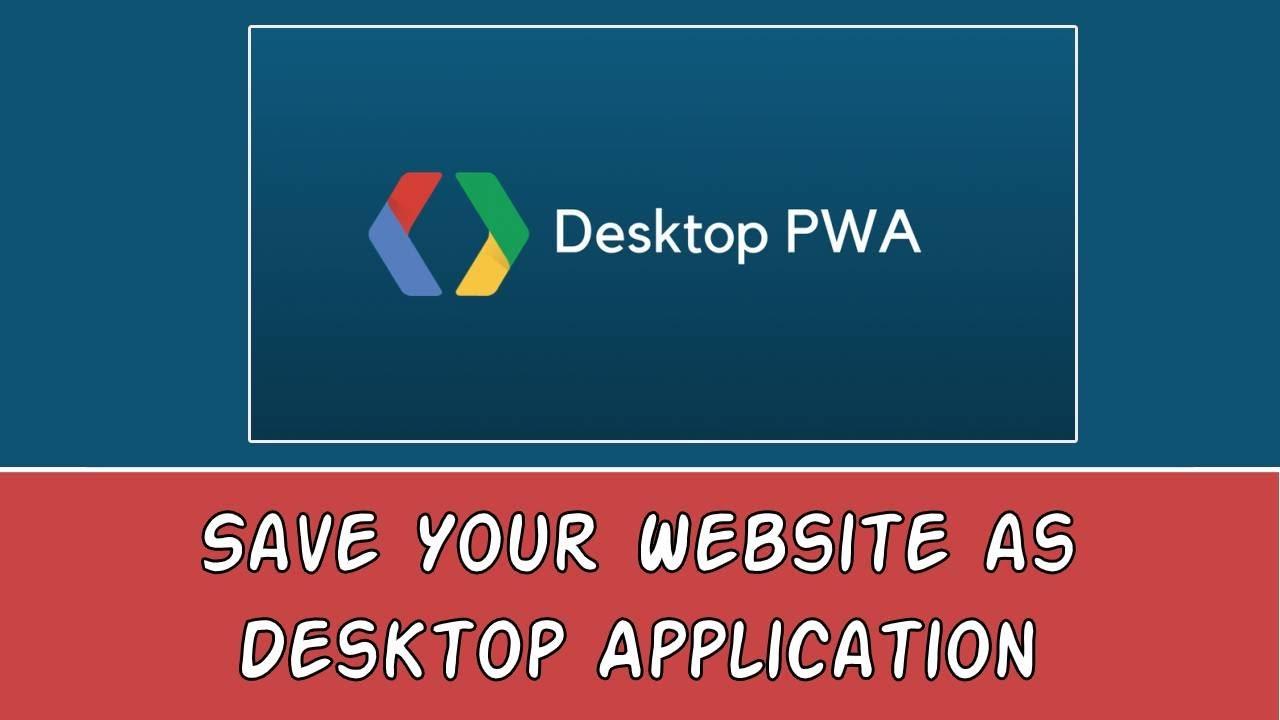 Convert your website into Desktop Application