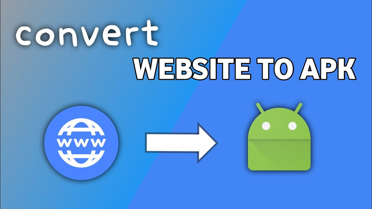 How To Convert Website Into Android Application For Free Hindi – website to apk