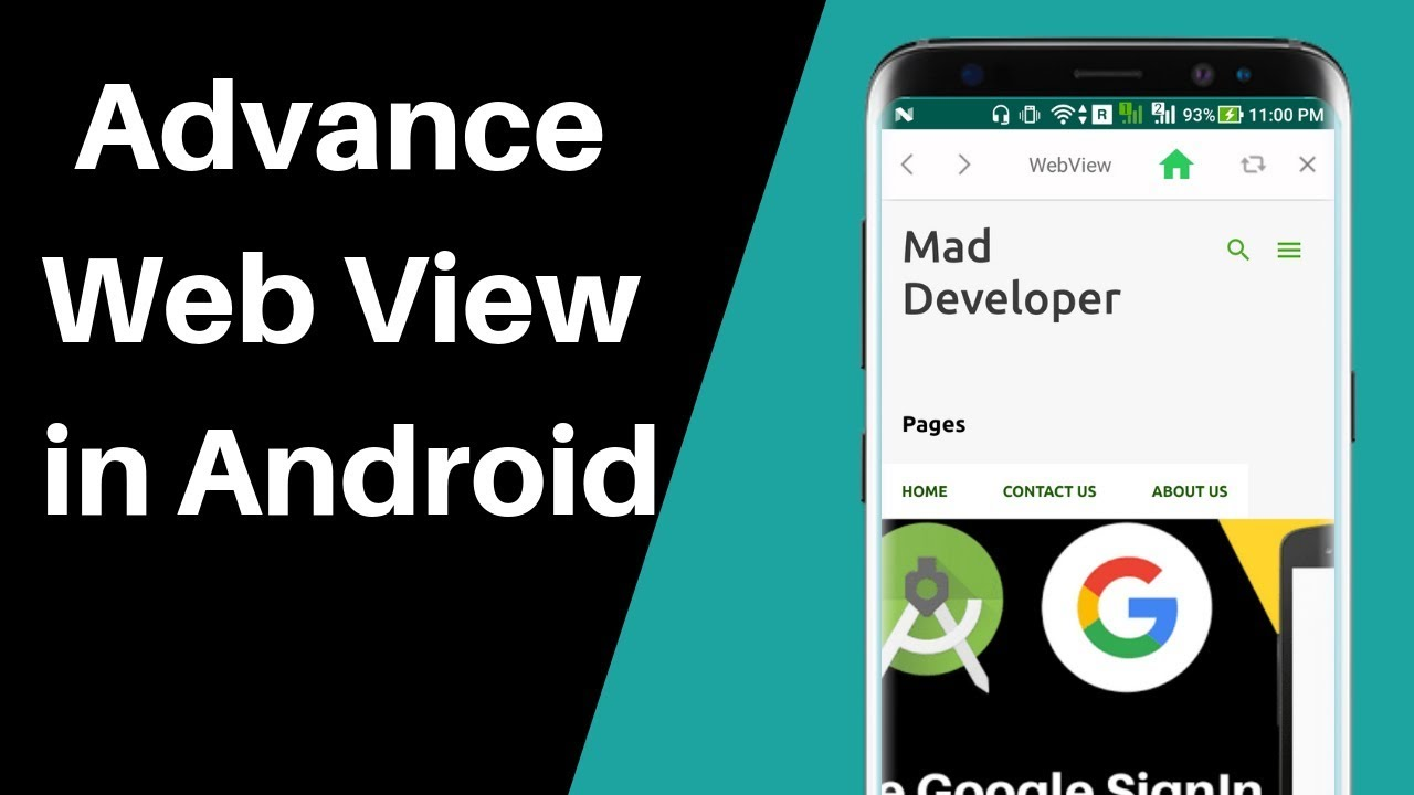 Convert a website or Blog in Android App(Advance WebView)