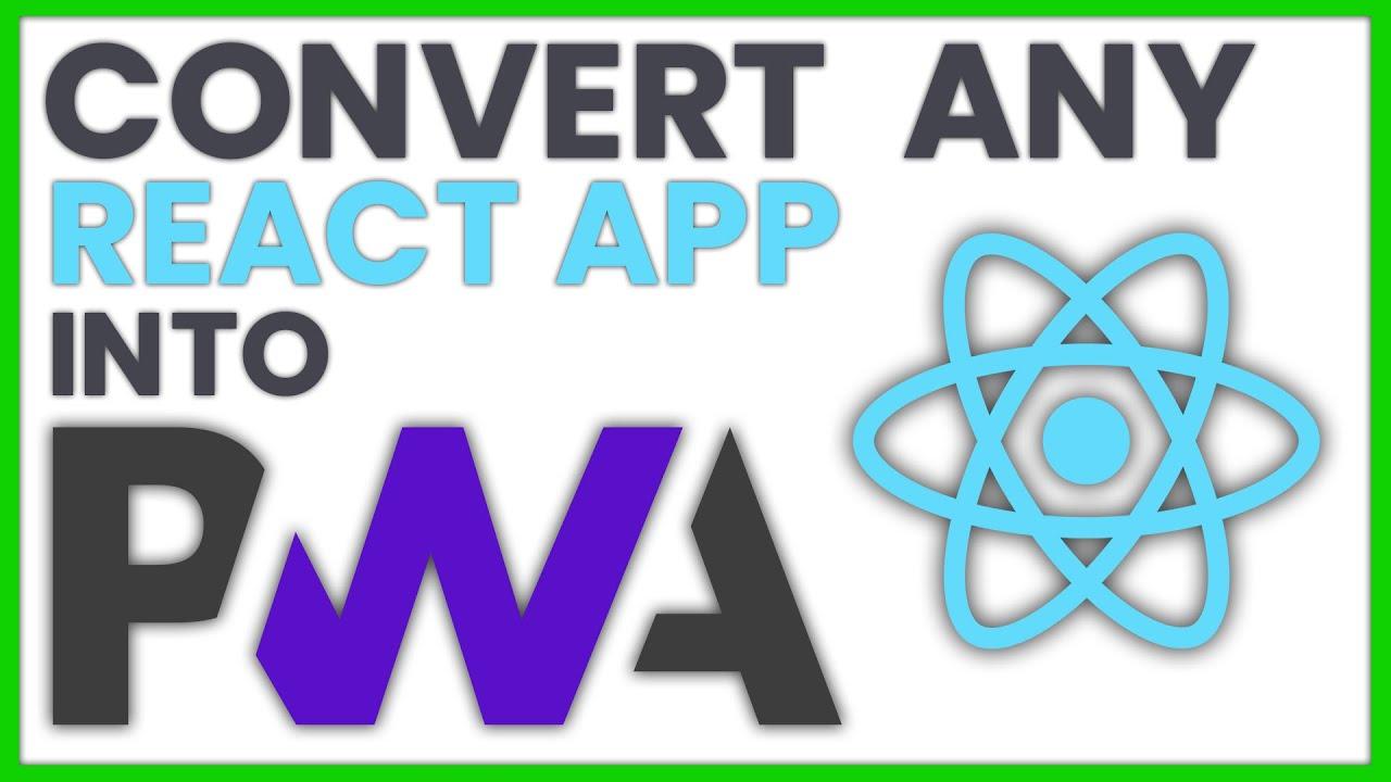 Convert React JS App into a PWA [ FULL TUTORIAL ] | Dictionary App PART 2  | Progressive Web App
