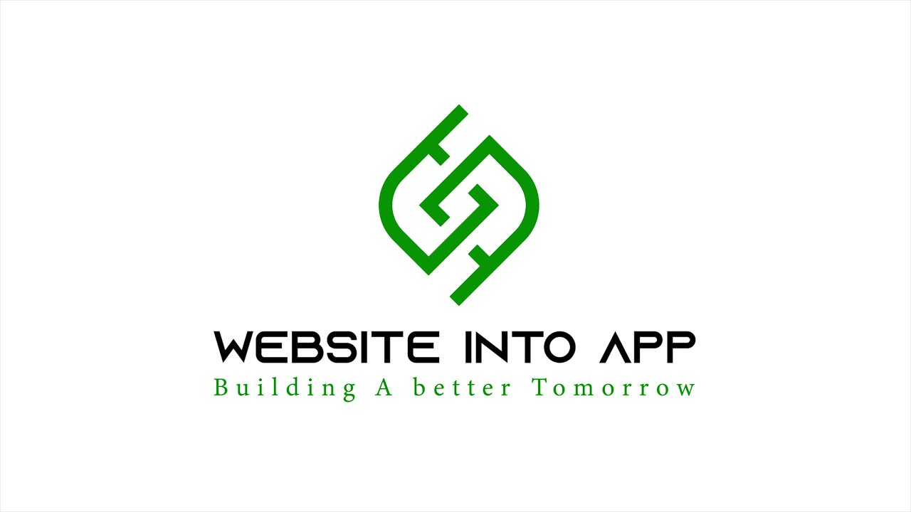 WEBSITE INTO APP Converter  INTRO 4k