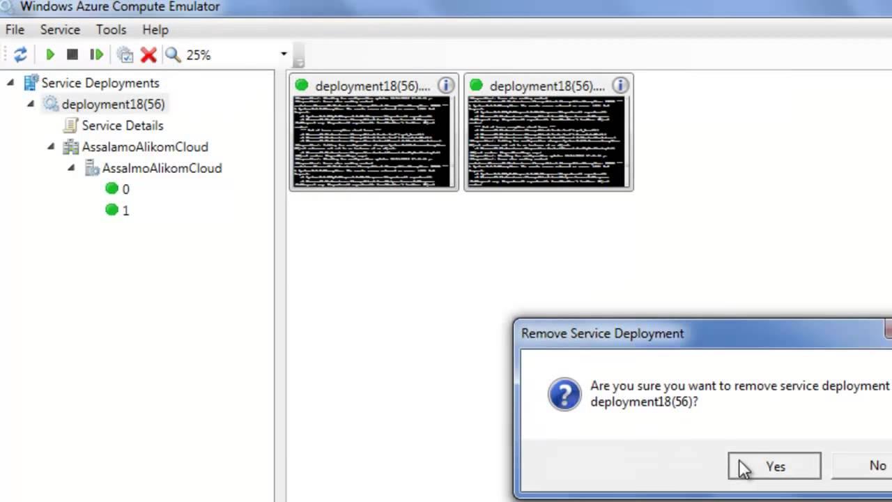تمكين برنامجي من العمل على منصة أزور Convert my web app to work on Azure
