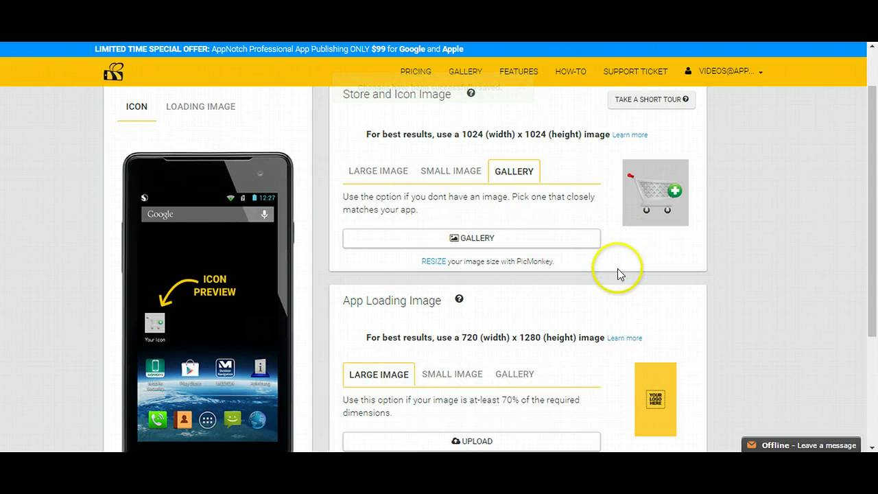 How to convert your website into a Mobile app