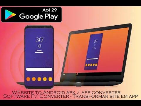 Alpha Website to Android Apk / App – Software Api 29  (Download) Web2App Website2Apk_Alpha
