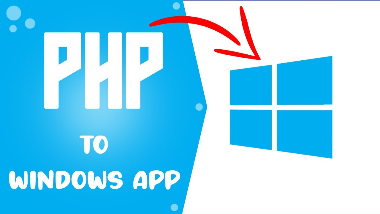 convert a PHP/Javascript website to a windows application using phpdesktop, SQlite and Innosetup
