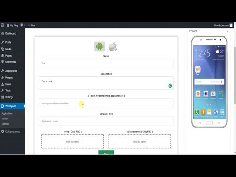 WebbyApp Review Demo – Convert WordPress Websites Into Mobile Apps