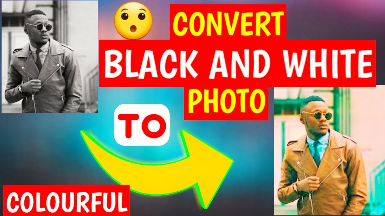 Convert Black And White Photos To Colourful || Best Website In Nepali || ProTech Nepal ||