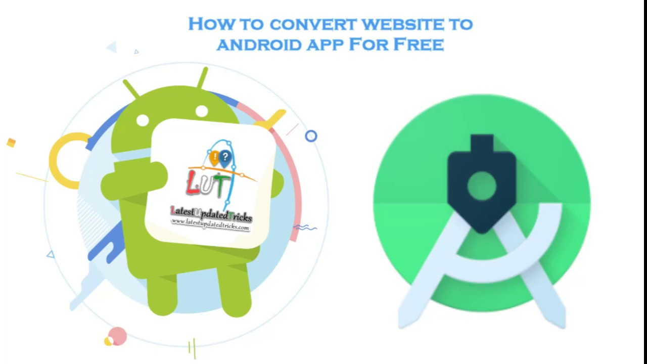 How to convert website to android app For Free