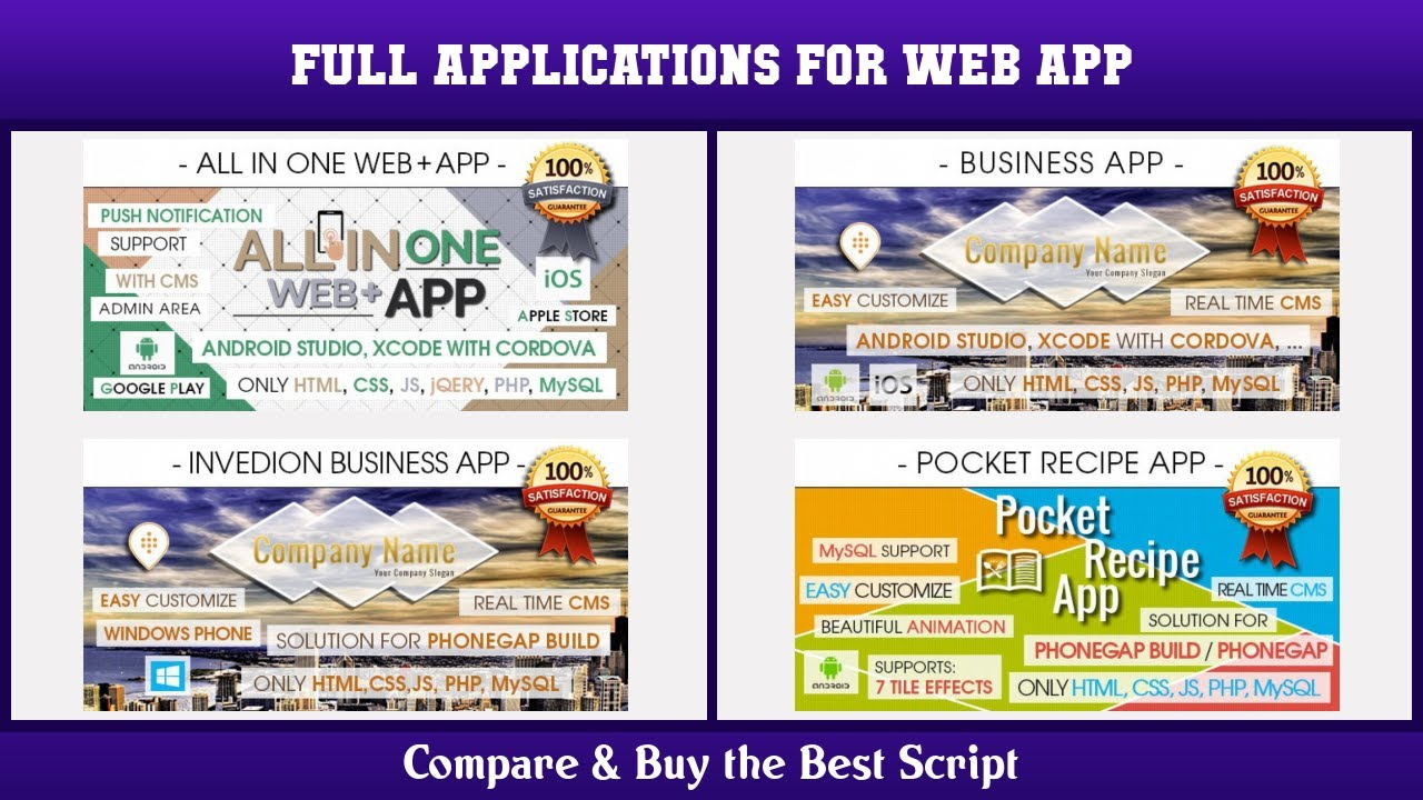 Top 10 Full Applications for Web App   Free and Paid 2021