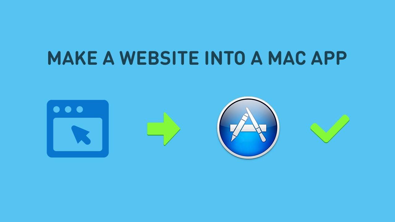 Make a website into a Mac App in minutes: Fluid App