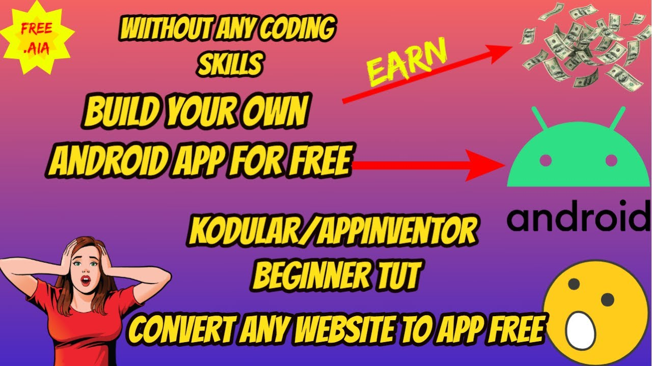 How to create App without any Coding skills|#KodularTutorialBeginner|#ai2 |#Part-3| WebViewer Comp.
