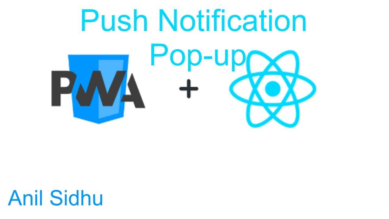 React js PWA tutorial #12 push notification popup | Progressive web app